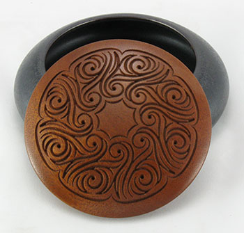 Carved Wooden Lid