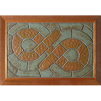 Two Headed Snake trivet